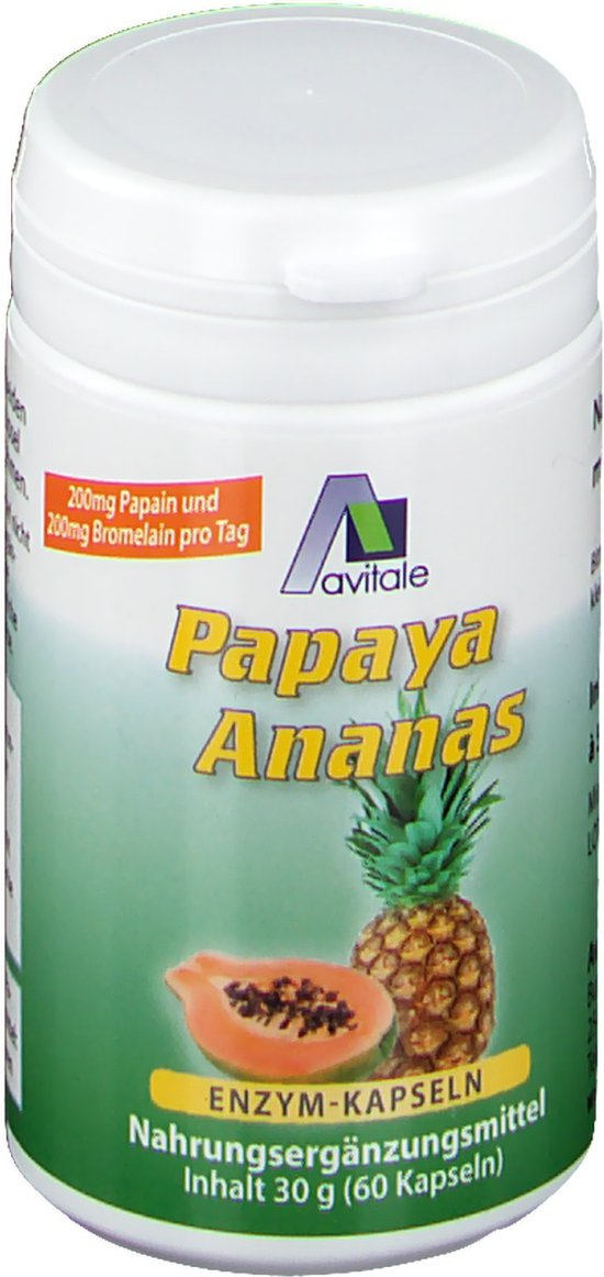 Avitale Papaya-Ananas Enzym
