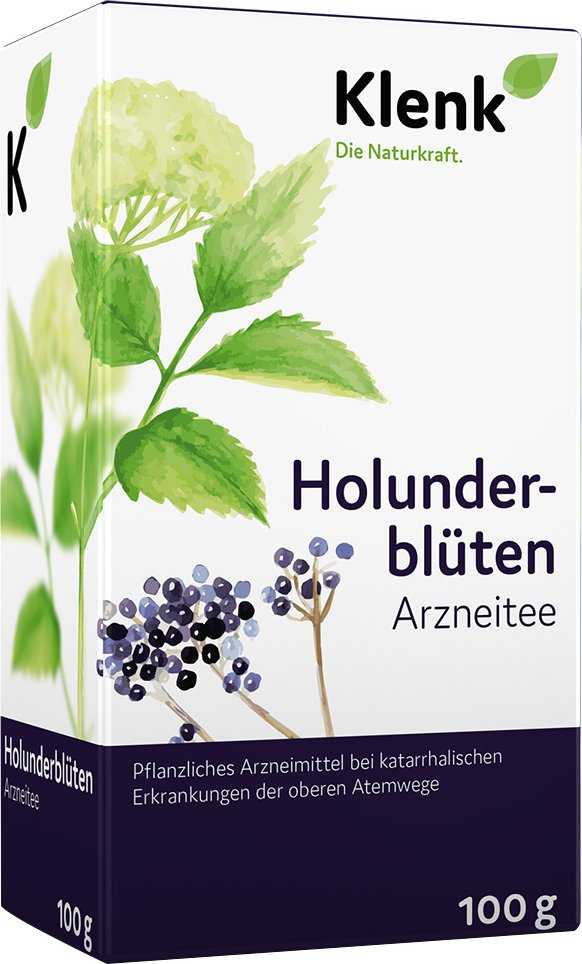 Holunderblüten Arznei-Tee Klenk