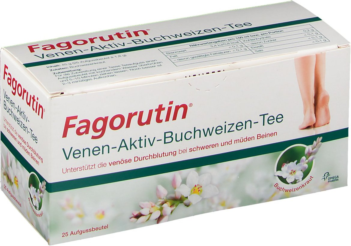 Fagorutin® Venen Aktiv Buchweizen-Tee