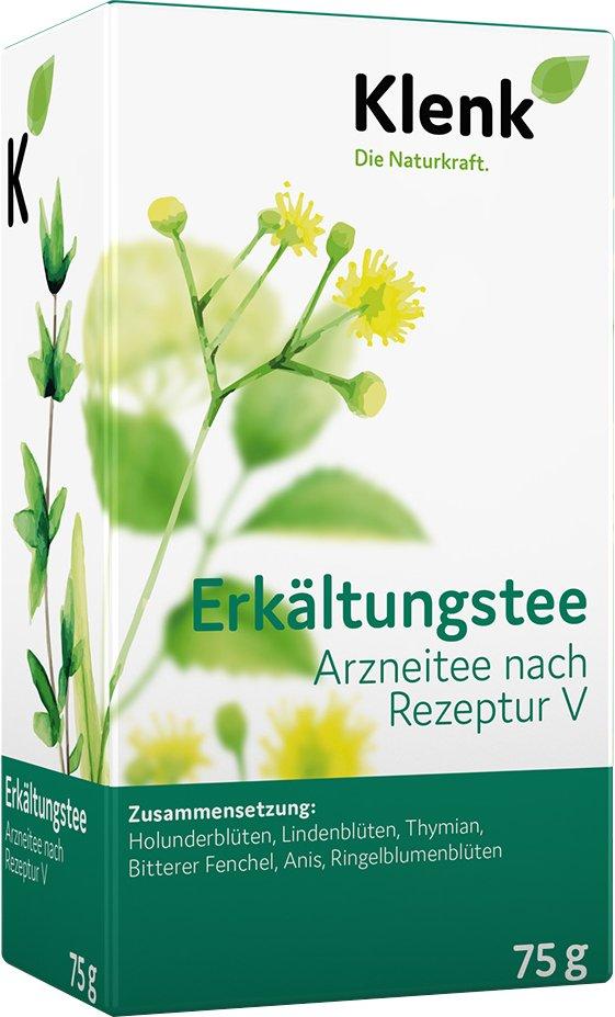 Erkältungstee Arznei-Tee Klenk