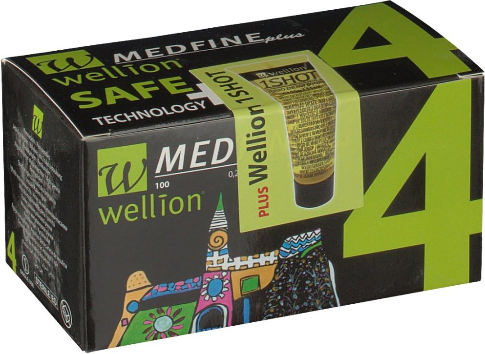 Wellion Medfine plus Pen-Nadeln 4 mm