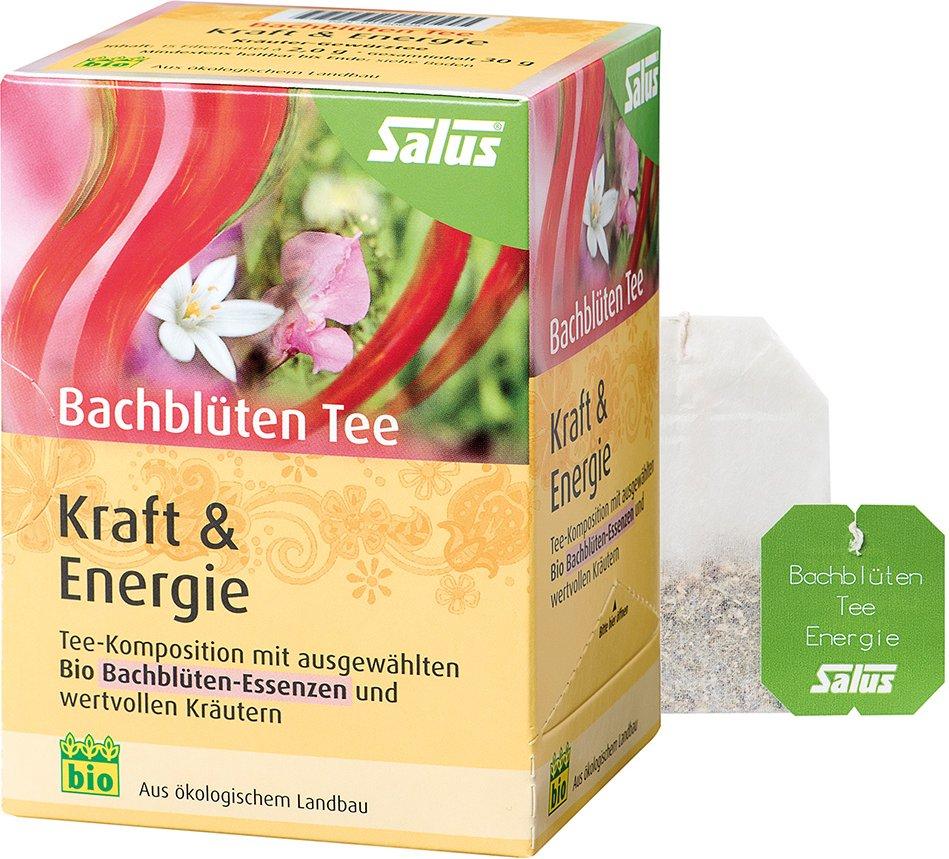 Salus® Bachblüten-Tee Kraft & Energie