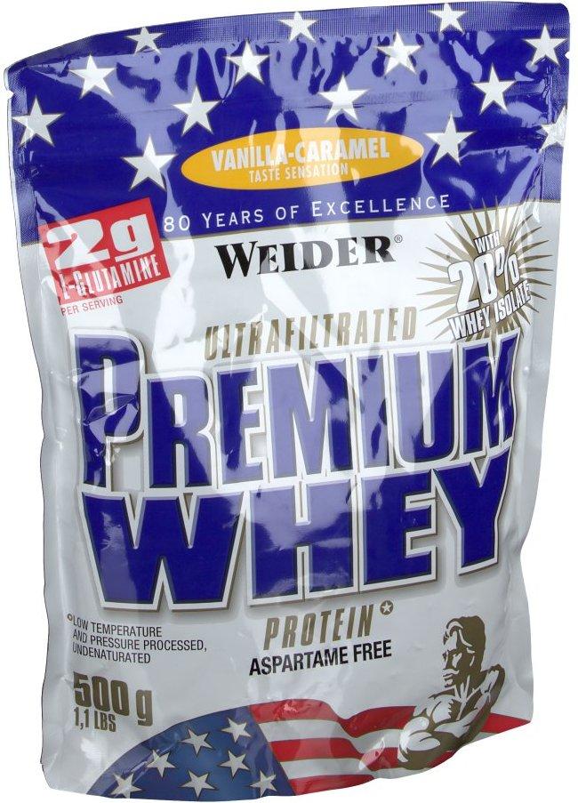 Weider Premium Whey, Vanille-Caramel, Pulver