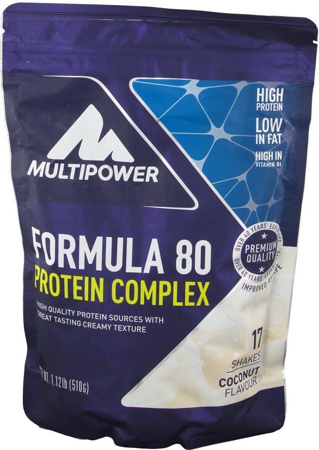 Multipower Formula 80 Protein Complex, Kokosnuss, Pulver