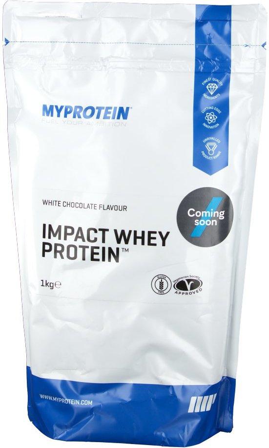 MyProtein Impact Whey Protein, Weiße Schokolade, Pulver