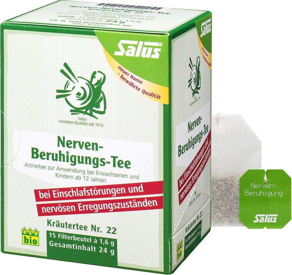 Salus® Nerven-Beruhigungstee Kräutertee NR. 22