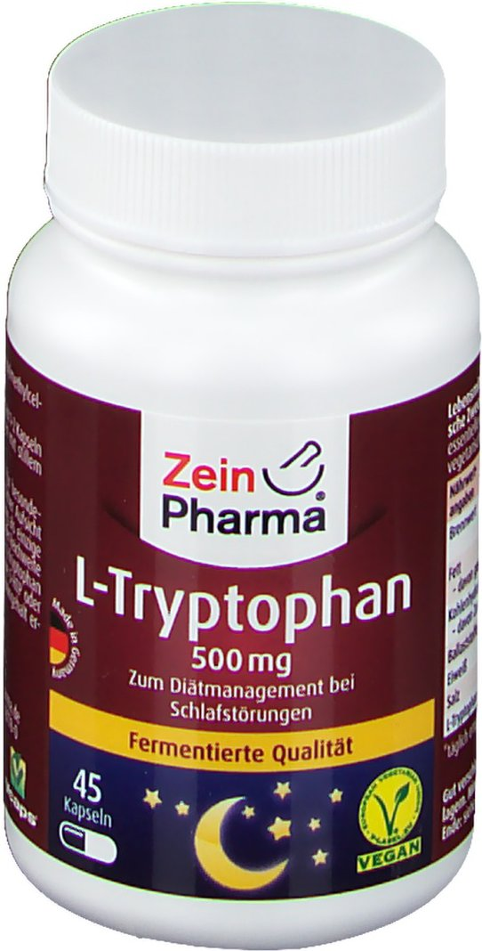 ZeinPharma® L-Tryptophan 500 mg