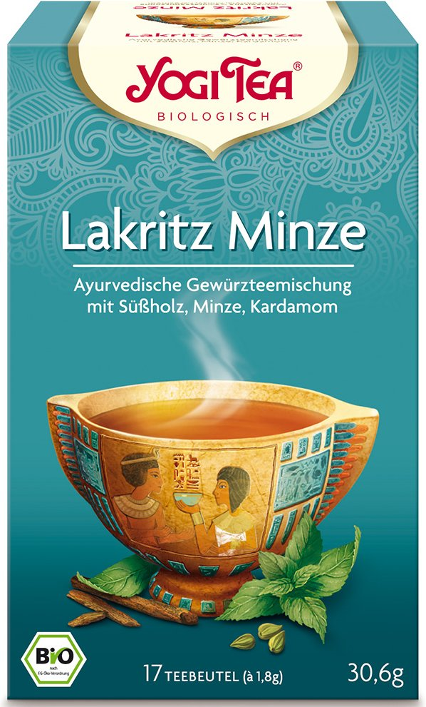 Yogi Tea® Lakritz Minze
