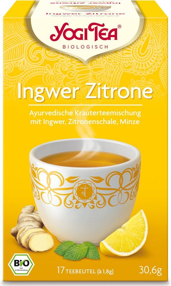 Yogi Tea® Ingwer Zitrone