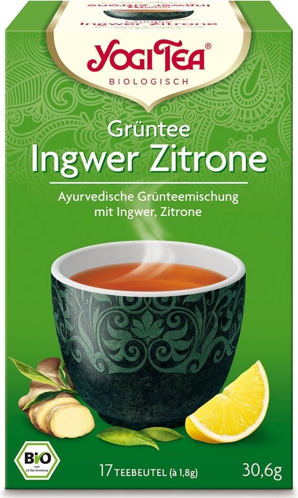 Yogi Tea® Grüntee Ingwer Zitrone
