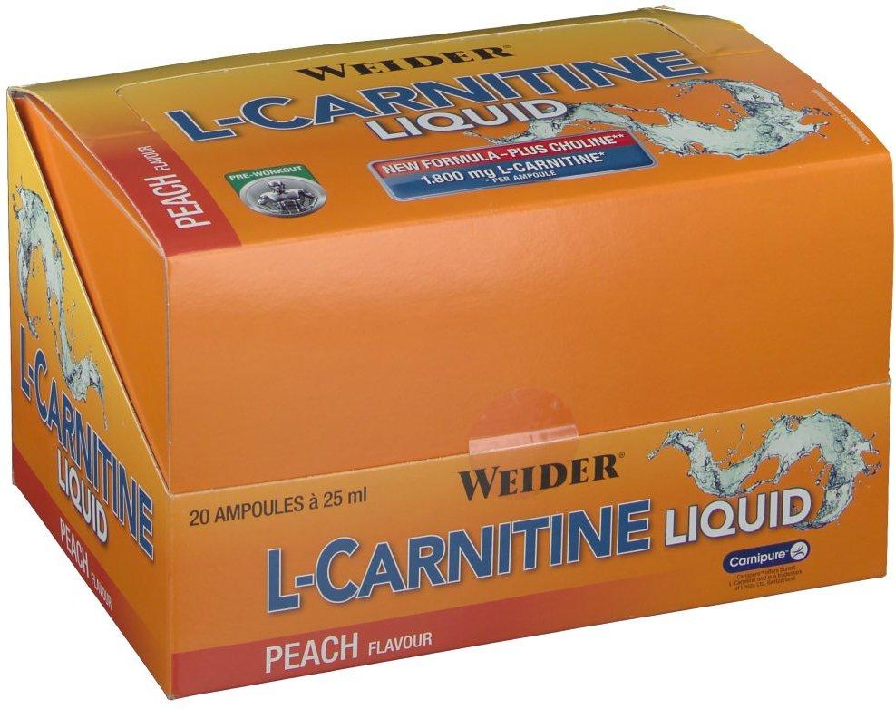 BodyShaper® L-Carnitine Liquid Pfirsich