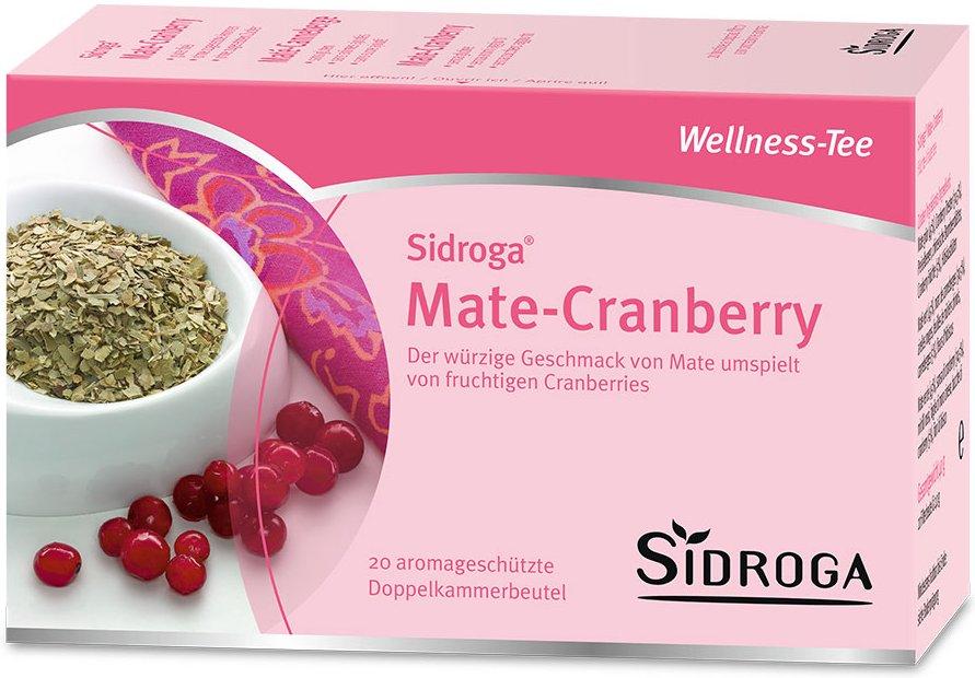 Sidroga® Wellness Mate-Cranberry Tee