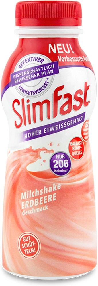 Slim Fast Milchshake Erdbeere