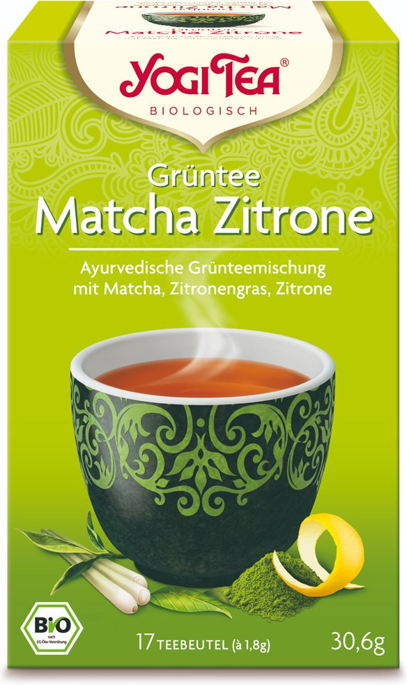 Yogi Tea® Grüntee Matcha Zitrone