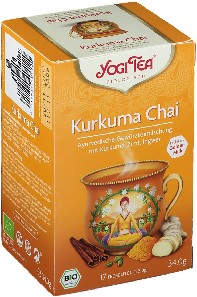 Yogi Tea® Kurkuma Chai Tee Bio