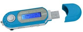 Difrnce MP851 MP3-Player - blau