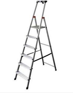 Krause Safety Alu-Leiter, 6 Stufen