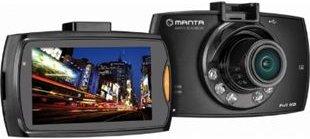 Manta MM313 Black Box 4 Full HD 1080p 2,4 Zoll Dashcam Autokamera mit Infrarot und microSD bis 32GB