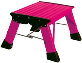 Krause Treppy Plusline, Doppel-Klapptritt, pink