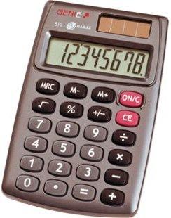 GENIE 510 Solar Taschenrechner Rechenmaschine Rechner Bürorechner Tischrechner