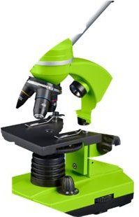 BRESSER Junior Schülermikroskop BIOLUX SEL Farbe: blau