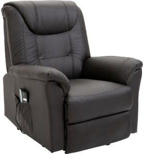 HOMCOM Massagesessel mit Wärmefunktion und Aufstehhilfe 100 x 93 x 105 cm (BxTxH)   Fernsehsessel TV Sessel Relaxsessel Sessel