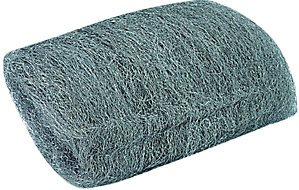 Wickes Pipe Cleaning   Smoothing Wire Wool Pad   Pack of 8