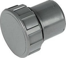 FloPlast  WS31G Solvent Weld Waste Access Cap   Grey 40mm