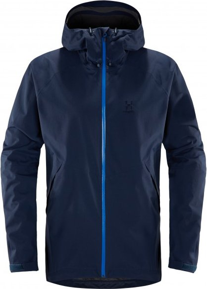 Haglöfs - Esker Jacket - Regenjacke Gr XXL blau/schwarz