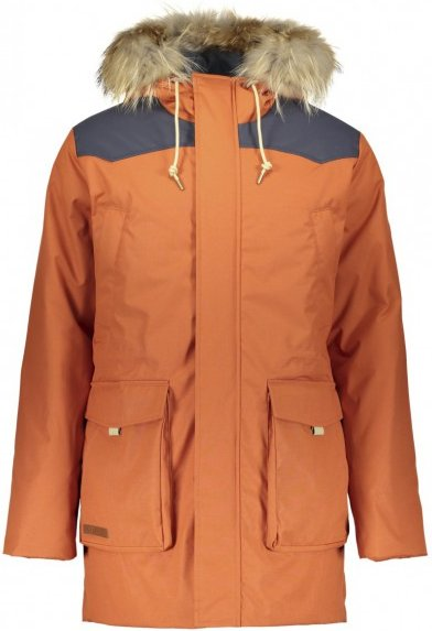 Powderhorn - Teton Wind River Parka - Mantel Gr L orange/rot