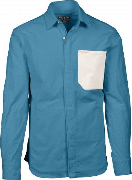 Amundsen Sports - Flypatch Field Shirt - Freizeitjacke Gr S blau