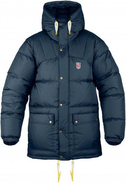Fjällräven - Expedition Down Jacket - Daunenjacke Gr S blau/schwarz
