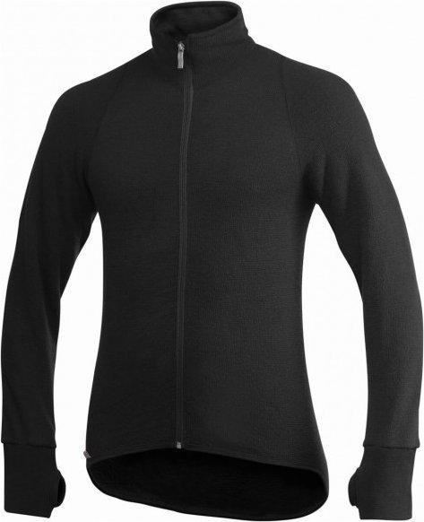 Woolpower - Full Zip Jacket 400 - Wolljacke Gr XXL schwarz