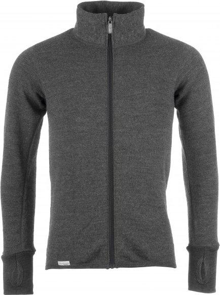Woolpower - Full Zip Jacket 400 - Wolljacke Gr S schwarz