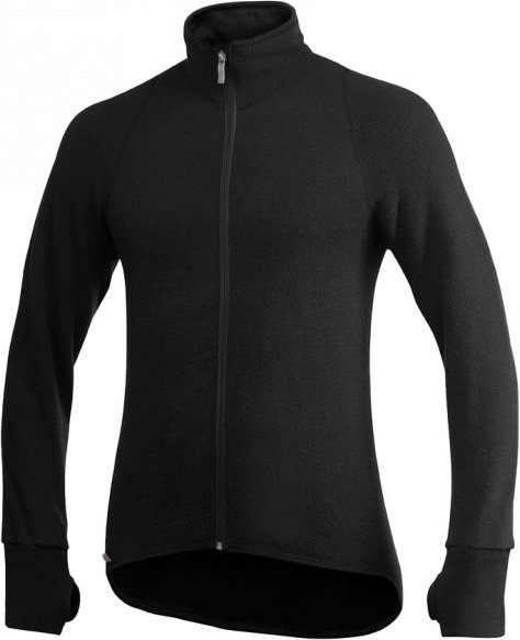 Woolpower - Full Zip Jacket 600 - Wolljacke Gr M schwarz