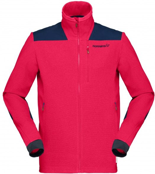 Norrøna - Svalbard Warm1 Jacket - Fleecejacke Gr L rosa