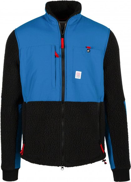 Topo Designs - Subalpine Fleece - Fleecejacke Gr L schwarz/blau