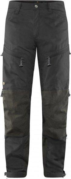 Fjällräven - Bergtagen Trousers - Tourenhose Gr 54 - Long - Fixed Length grau/schwarz