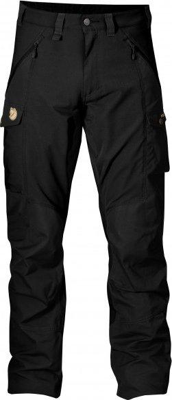 Fjällräven - Abisko Trousers - Trekkinghose Gr 54 - Long - Raw Length schwarz