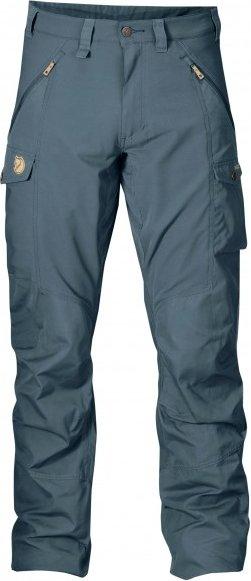Fjällräven - Abisko Trousers - Trekkinghose Gr 56 - Long - Raw Length blau/lila/grau