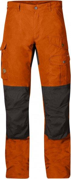 Fjällräven - Barents Pro - Trekkinghose Gr 46 - Regular - Raw Length rot/schwarz