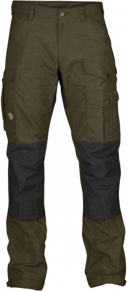 Fjällräven - Vidda Pro - Trekkinghose Gr 44 - Long - Fixed Length braun/schwarz