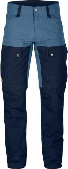Fjällräven - Keb Gaiter Trousers - Trekkinghose Gr 54 - Long - Fixed Length blau/schwarz