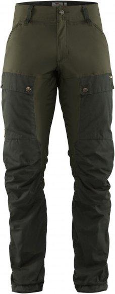 Fjällräven - Keb Trousers - Trekkinghose Gr 54 - Regular - Fixed Length braun/oliv