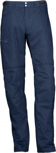 Norrøna - Svalbard Mid Cotton Pants - Trekkinghose Gr XL blau