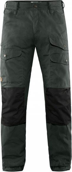 Fjällräven - Vidda Pro Ventilated Trousers - Trekkinghose Gr 52 - Regular - Fixed Length schwarz