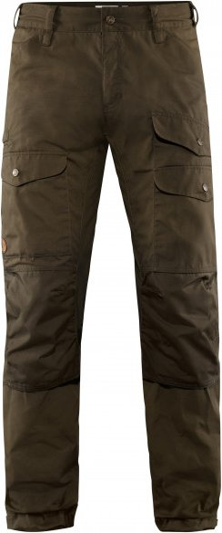 Fjällräven - Vidda Pro Ventilated Trousers - Trekkinghose Gr 56 - Long - Fixed Length braun/schwarz