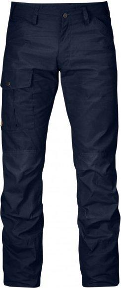 Fjällräven - Nils Trousers - Jeans Gr 46 - Long - Raw Length schwarz