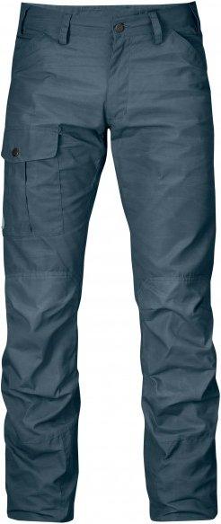 Fjällräven - Nils Trousers - Jeans Gr 54 - Long - Raw Length blau/schwarz