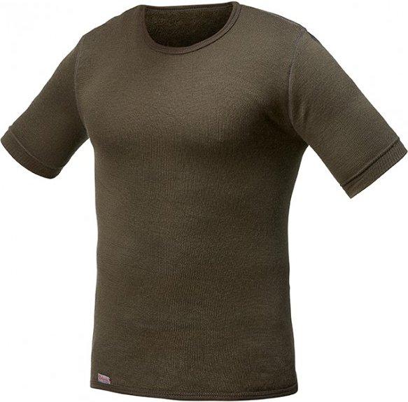 Woolpower - Tee 200 - T-Shirt Gr 3XL braun/schwarz